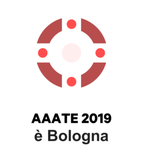 AAATE 2019 is Bologna: logo created with a logo generator of the municipality of Bologna